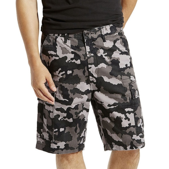 fffec1da Levi's Shorts | Levis Mens Carrier Cargo Grey Camo 29 | Poshmark